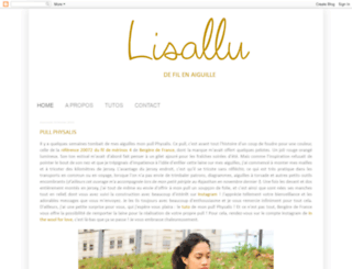 lisallu.blogspot.fr screenshot