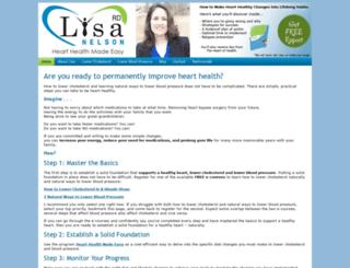 lisanelsonrd.com screenshot