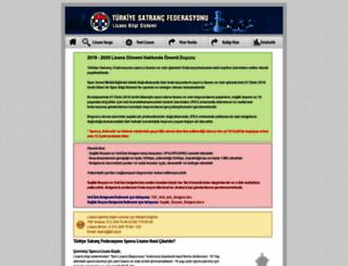 lisans.tsf.org.tr screenshot