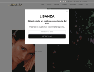 lisanza.it screenshot