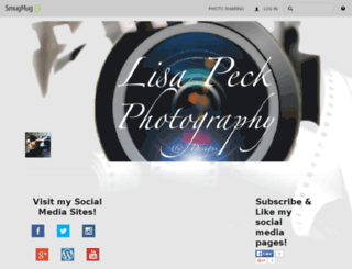 lisapeckphotography.smugmug.com screenshot