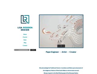 lisarodden.com screenshot