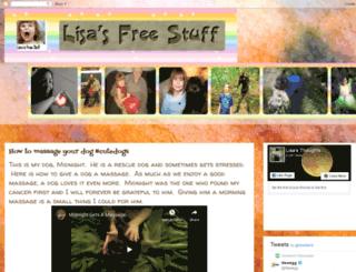 lisasfreestuff.blogspot.com screenshot