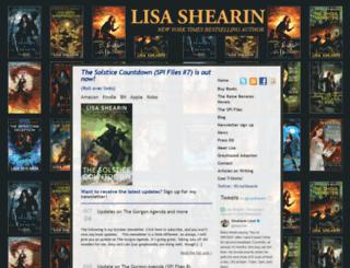 lisashearin.com screenshot