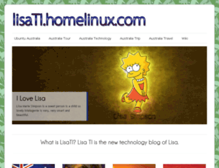 lisati.homelinux.com screenshot