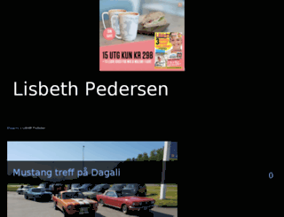 lisbethpedersen.blogg.no screenshot