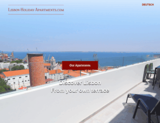 lisbon-holiday-apartments.com screenshot