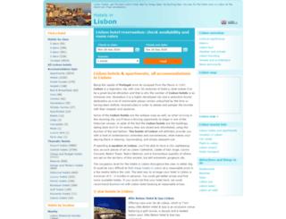 lisbon-hotel.net screenshot