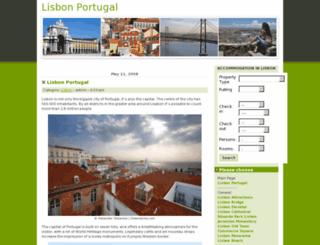 lisbonportugal.co.uk screenshot