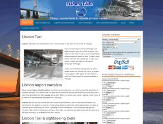 lisbontaxi.net screenshot