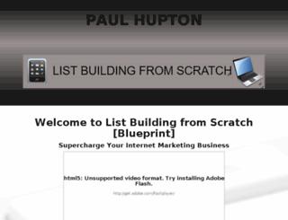 list-building-from-scratch.com screenshot