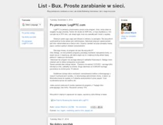 list-bux.blogspot.co.uk screenshot