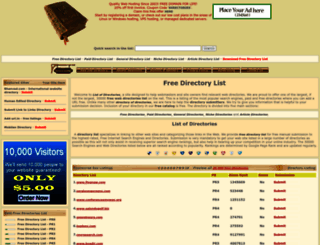 list-directories.com screenshot