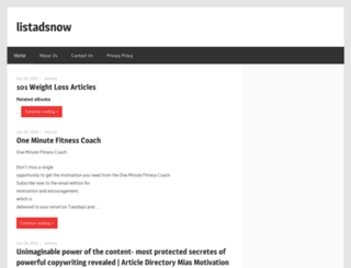 listadsnow.com screenshot