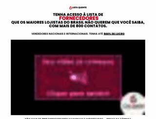 listaquente.com.br screenshot