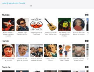 listasyoutube.com screenshot