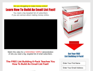 listbuilding6pack.com screenshot