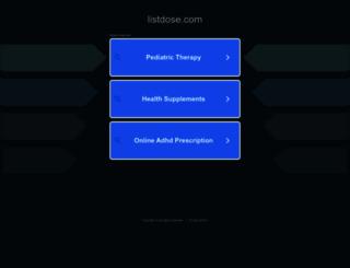 listdose.com screenshot