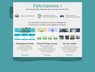 liste-annuaires.com screenshot