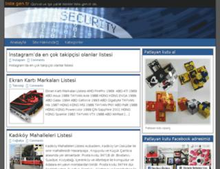 liste.gen.tr screenshot
