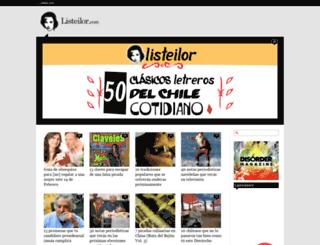 listeilor.com screenshot