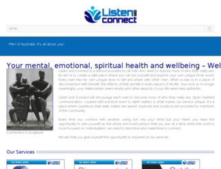 listenandconnect.com.au screenshot