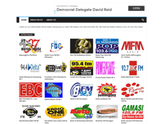 listenfmradios.com screenshot