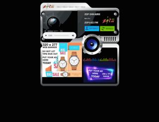 listenlive.zipfm.net screenshot