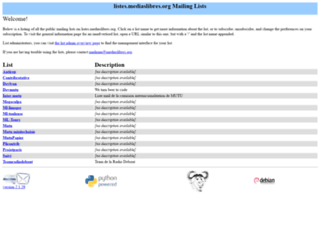 listes.mediaslibres.org screenshot