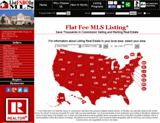 listfsboinmls.com screenshot