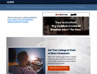 listhub.net screenshot