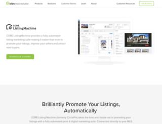 listingmachine.com screenshot