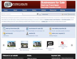 listings.proclient.ca screenshot