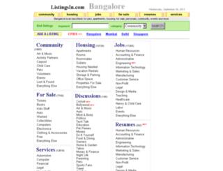 listingsin.com screenshot