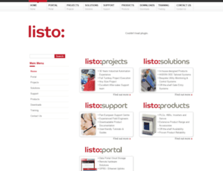 listo-ltd.com screenshot
