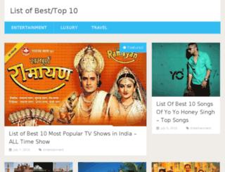 listofbest10.com screenshot