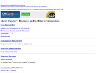 listofdirectory.com screenshot