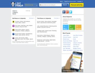 listpanda.com screenshot