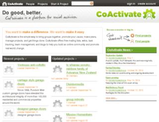 lists.coactivate.org screenshot