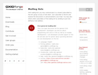 lists.oxidforge.org screenshot