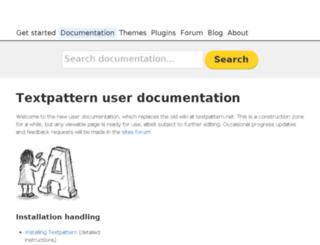 lists.textpattern.com screenshot