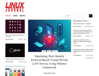 lists2.linuxjournal.com screenshot