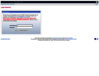 listserv.kent.edu screenshot