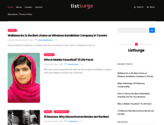 listsurge.com screenshot