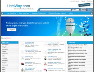 listsway.com screenshot