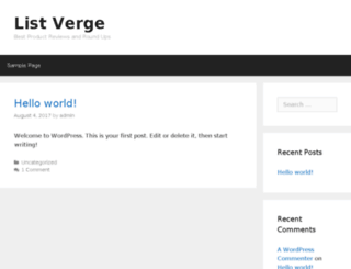listverge.com screenshot