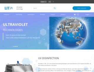 lit-uv.com screenshot