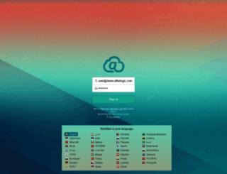 lite.afterlogic.com screenshot