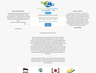 litecoinpuddle.com screenshot