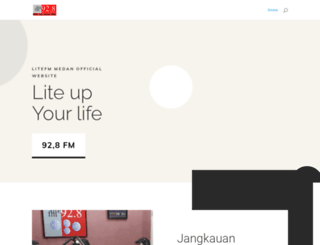 litefm-medan.com screenshot